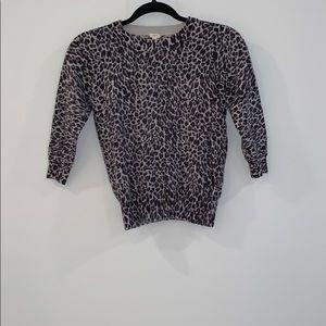 Leopard Cashmere Sweater